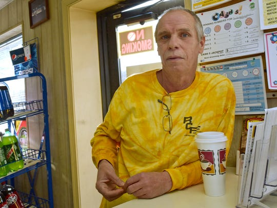 Randy Miller, a regular at Cutchall's, said he arrived