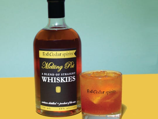 Red Cedar Spirits' Old Fashioned