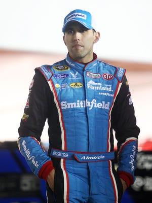 Aric Almirola would like to visit the Pacific Northwest.
