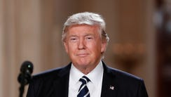 President Donald Trump, shown in the White House on