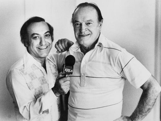 Art Laboe with his partnership in their brief ownership