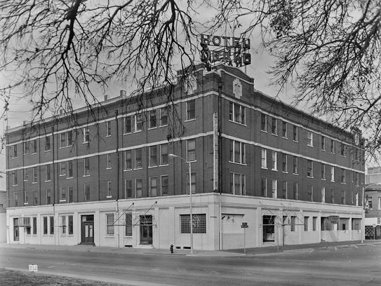 The Drake Hotel as it looked before remodeling into