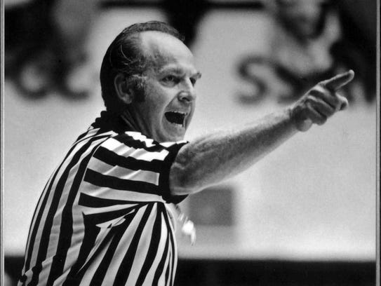 After his playing career ended, Louie Soriano became a respected referee who called an NCAA Final Four and worked with the NBA.