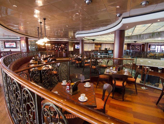 The new O'Sheehan's Neighborhood Bar & Grill on Norwegian Cruise Line's Norwegian Jewel.