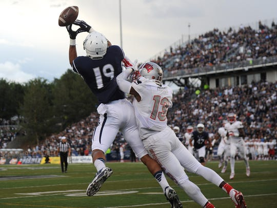 Nevada's Wyatt Demps is the Wolf Pack's most accomplished returning receiver.