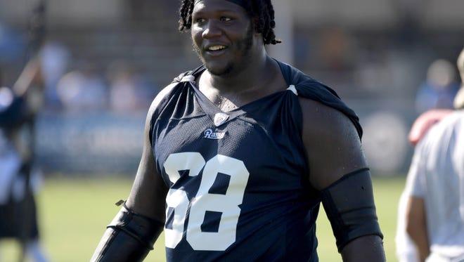 Former U of L OL Jamon Brown - Los Angeles Rams
