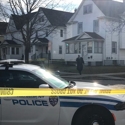 Investigator on scene following alleged shots fired
