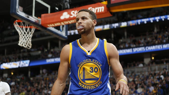 ESPN ranked the Warriors' Stephen Curry ahead of Pistons great Isiah Thomas among point guards.
