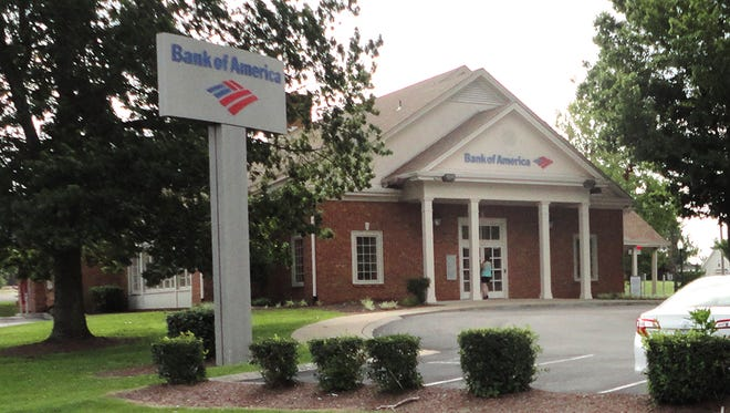 Bank of America branch in Fairview.