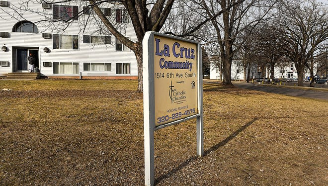 The Central Minnesota Community Empowerment Organization is taking over responsibility of the La Cruz Community from Catholic Charities shown Saturday, March 4, along Sixth Avenue S in St. Cloud.