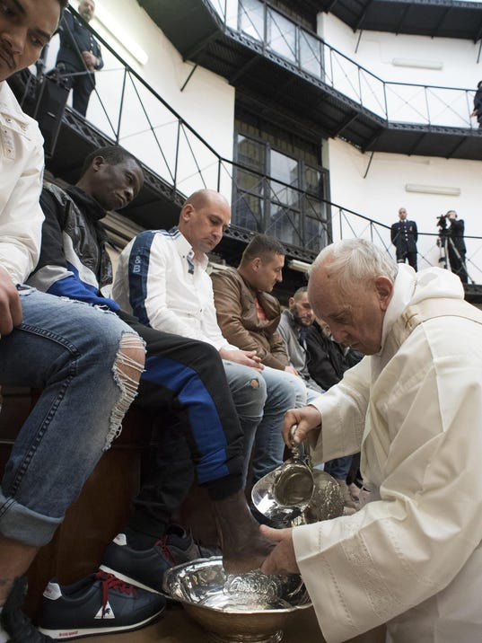 EPA ITALY POPE PRISON REL BELIEF (FAITH) ITA