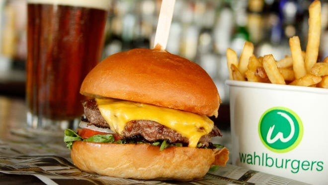 Wahlburgers began in a Boston suburb and has expanded to 17 states and Canada. The chain makes its propriety beef blend with brisket, chuck and short rib, and other proteins and plant-based options are available on the seven signature burgers.