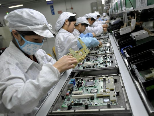 Wages have increased for Chinese workers, sending some