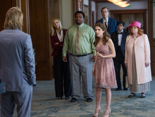 "Anna Kendrick stars in ""Table 19."""