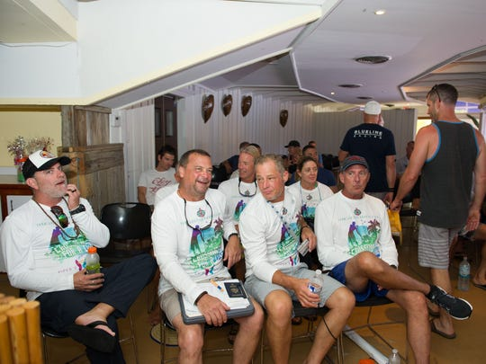 """The captains meeting planning """"Crossing for a Cure"""""""