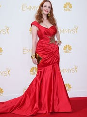 For seven years, actress Christina Hendricks appeared