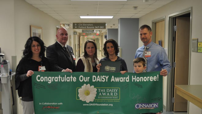 The award is part of the DAISY Foundation's program to recognize the exceptional care nurses provide every day.