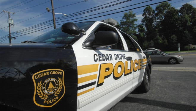 Cedar Grove police car.