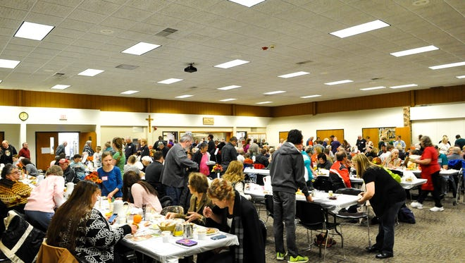 The 33rd annual Community Thanksgiving Dinner will be held Nov. 24, 2016 at St. Bronislava Catholic Church in Plover.