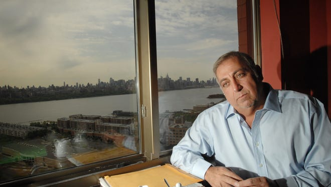 Fred Daibes, Edgewater-based developer, and largest shareholder in troubled Mariner's Bank, in his large home within the St. Moritz in Edgewater on April 25, 2012.