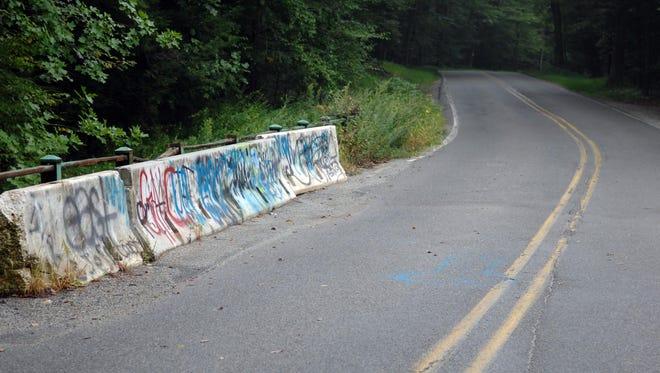 Clinton Road bridge.