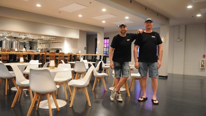 Milan Mladjan and Michael Lankford are opening Beach Nomad Brews in Rehoboth Beach this summer.