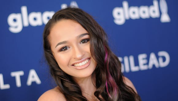 "Star of ""I Am Jazz"" Jazz Jennings"