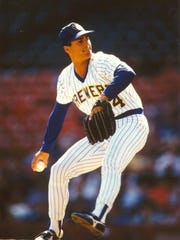 """Mark Ciardi pitched four games for the Milwaukee Brewers in 1987. """"Just getting into that first big league game and running out onto the field – a whole host of emotions go through your mind. It was a dream come true for me,"""" he said."""