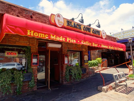 The Black Cow Cafe in Sedona is known for homemade