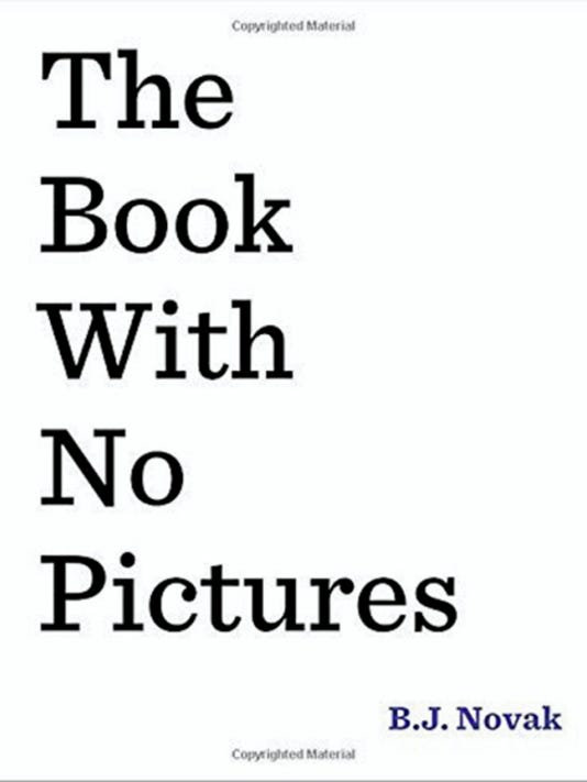 """""""The Book With No Pictures"""""""