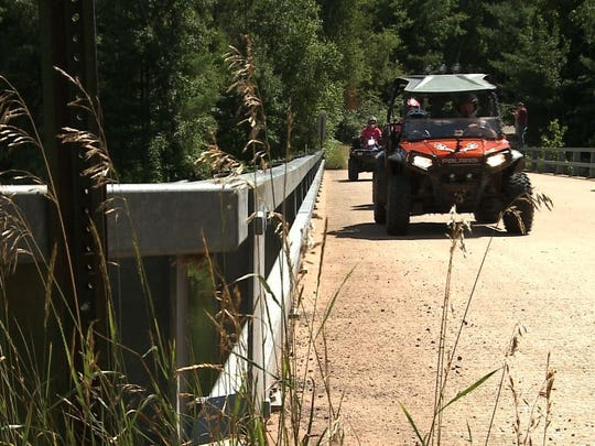 Burnett County is home to 80 miles of frozen ground ATV trails and 120 miles of winter ATV trails.