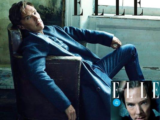Cumberbatch in ELLE UK