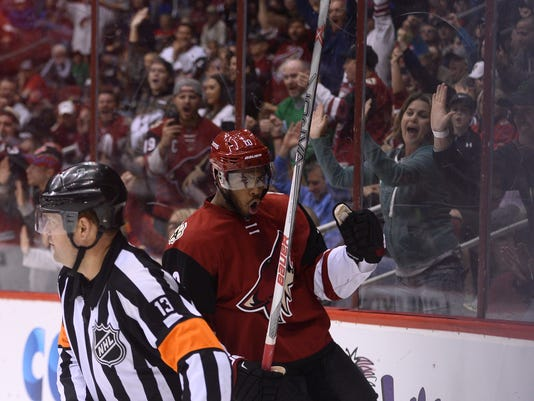 NHL: Calgary Flames at Arizona Coyotes