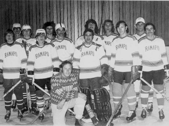 The first-ever Ramapo College ice hockey team was formed in  the 1972-73 season and posted a 9-7-1 overall record.