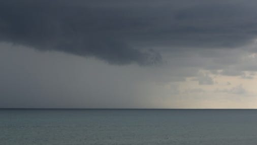 A cold front is bringing scattered thunderstorms to Southwest Florida