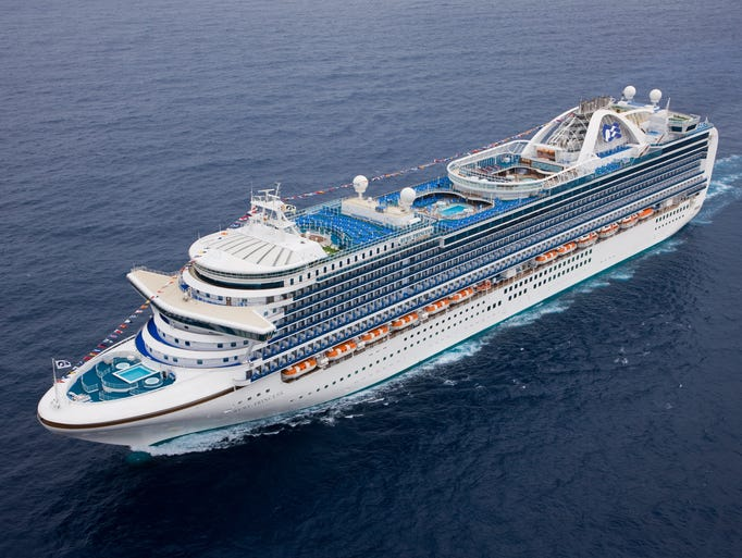 Unveiled in late 2008, Princess Cruises' 3,080-passenger Ruby Princess is one of the line's newest vessels.