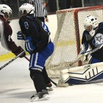 PHOTOS - Milford and Lakeland High hockey in action