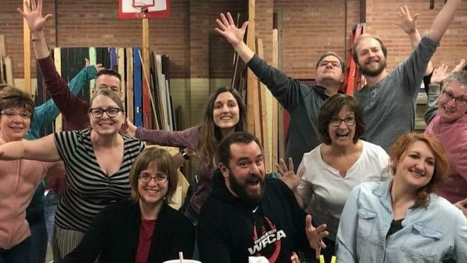 """Pictured is the cast of Fond du Lac Community Theatre's """"Give My Regards To Broadway."""" The show will celebrate 60 years of Fond du Lac Community Theatre March 22 to 25."""