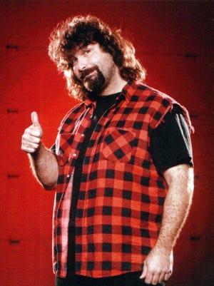 "Mick Foley headlines ""Legends of the Falls,"" a pro wresting event at Centene Stadium, June 2."