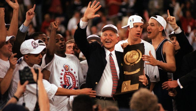 The top Cats: In Arizona's third Final Four appearance - and Lute Olson's fourth - the Cats came away with the 1997 national championship by beating the Kentucky Wildcats in overtime.