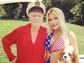 Crystal Hefner shared this Memorial Day snap with husband Hugh Hefner on her Instagram page.
