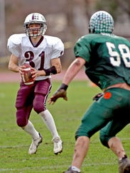Former North Plainfield standout James DiPaolo (left,