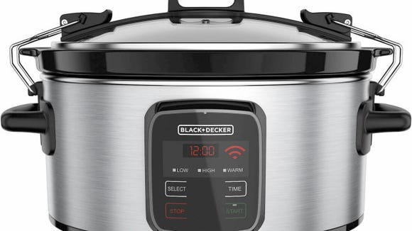 Monitor your slow cooker via your phone.