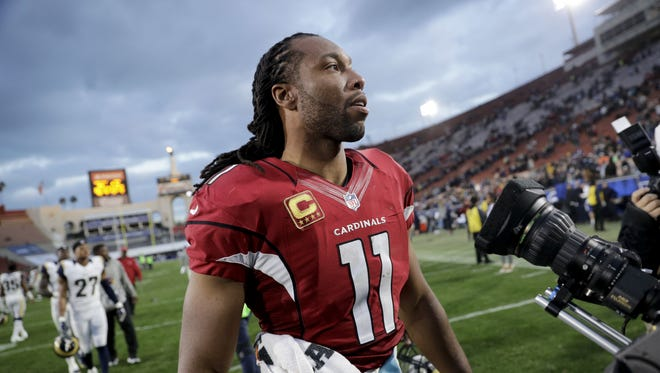 Larry Fitzgerald finished the season with an NFL-leading 107 receptions for 1,023 yards.