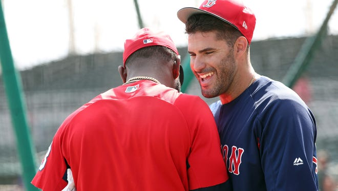 J.D. Martinez signed a $110 million deal with the Red Sox and is prepared for all that entails.