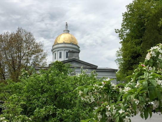 The Vermont Statehouse is pictured on May 24, 2017.