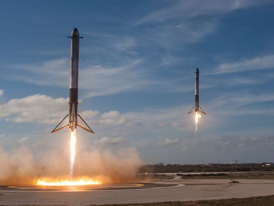 After the first launch of SpaceX's Falcon Heavy rocket