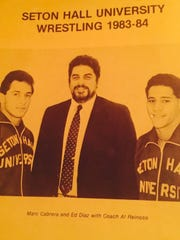 Photo from 1983-84 Seton Hall University wrestling