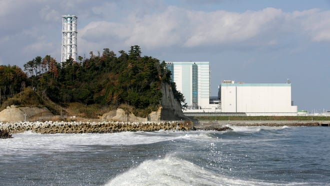 Tokyo Electric Power Company's Fukushima Daini Nuclear Power Plant is seen in Naraha town, Fukushima Prefecture, Japan, Nov. 22, 2016, after a strong earthquake hit northern Japan in the morning.