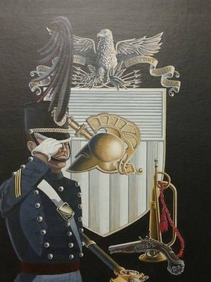 """Best in Show was K. Keith Kochenour III, """"The Corps – United States Military."""""""